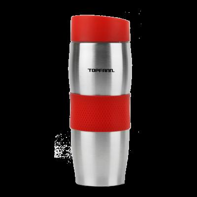 Kubek termiczny TOPFANN 380 ml czerwony