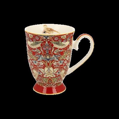 Kubek porcelanowy Morris Red 325 ml