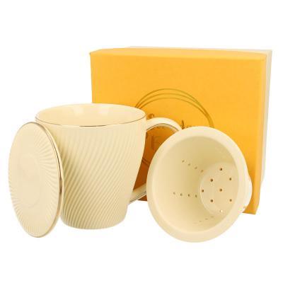 Kubek porcelanowy z zaparzaczem DUO Ice Cream 430 ml