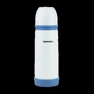 Termos stalowy TOPFANN 350 ml niebiesko-biały
