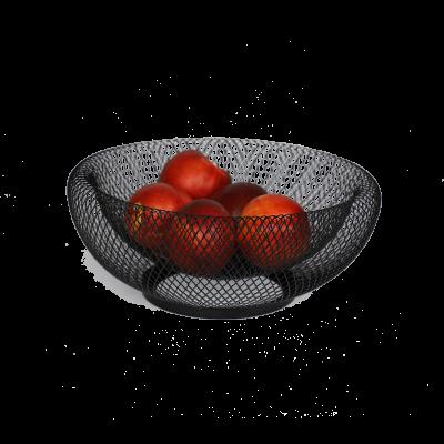 Koszyk na owoce czarny
