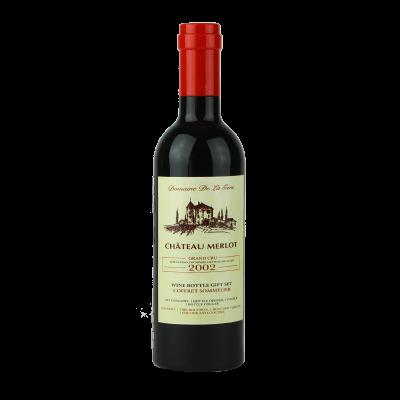 Akcesoria do wina w butelce 23,5 cm czerwony korek
