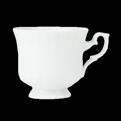 Filiżanka porcelanowa CHODZIEŻ Iwona biała 220 ml