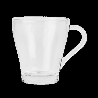Kubek szklany gładki 260 ml
