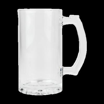 Kufel do piwa szklany 500 ml