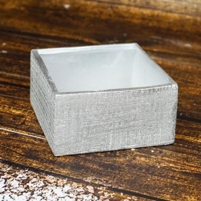 Osłonka ceramiczna 14,5x14,5 srebrna