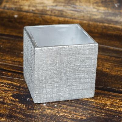 Osłonka ceramiczna 12x12 srebrna