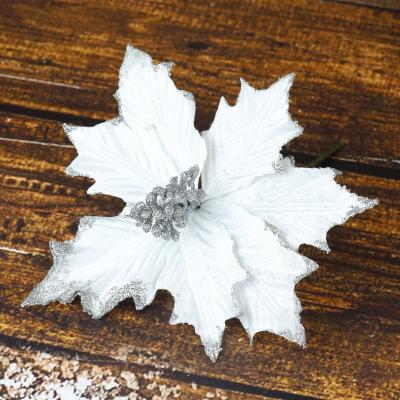 Gwiazda na piku biała 25 cm