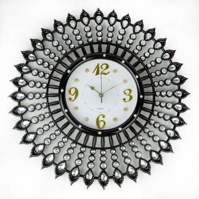 Zegar ścienny 55 cm czarny