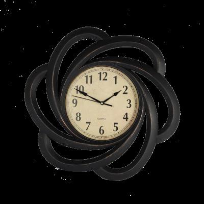 Zegar ścienny 51 cm czarny