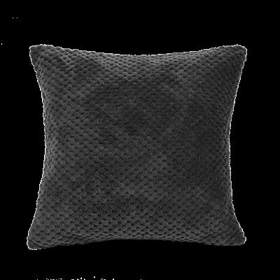 Poszewka Charm 40x40 cm ciemny szary