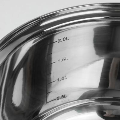 Komplet garnków nierdzewnych z termometrem TOPFANN 8-częściowy
