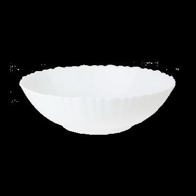 Salaterka Opal biała 20 cm
