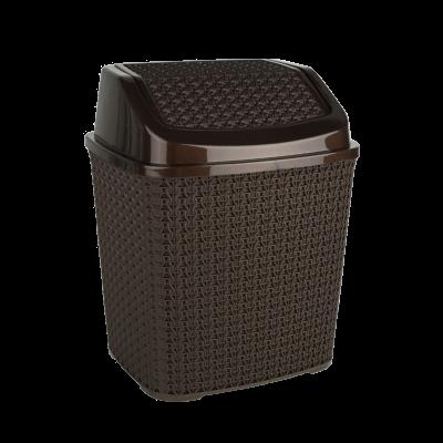 Kosz na odpady brązowy 6,2 l