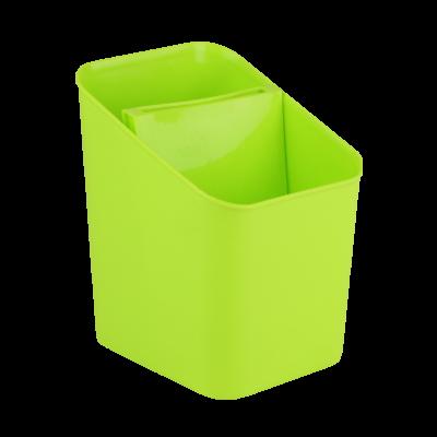 Ociekacz na sztućce zielony 11,5x13x16 cm