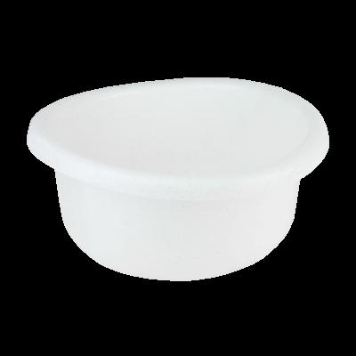 Miska plastikowa biały marmurek 5 l