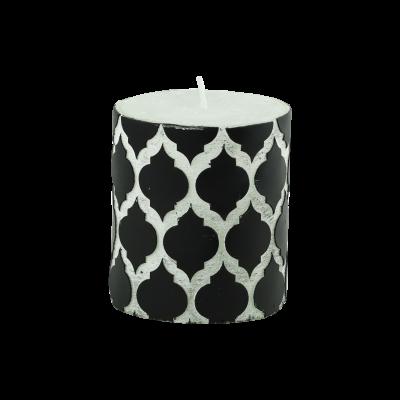 Świeca w kształcie walca Maroko 7x8 cm