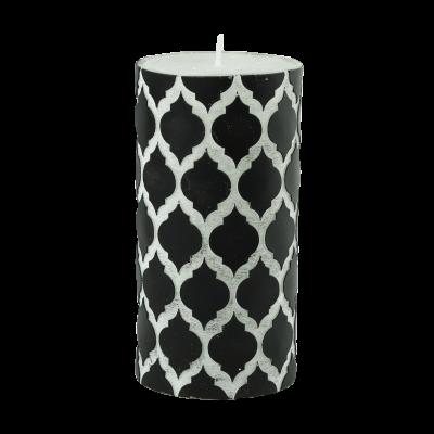 Świeca w kształcie walca Maroko 7x14 cm