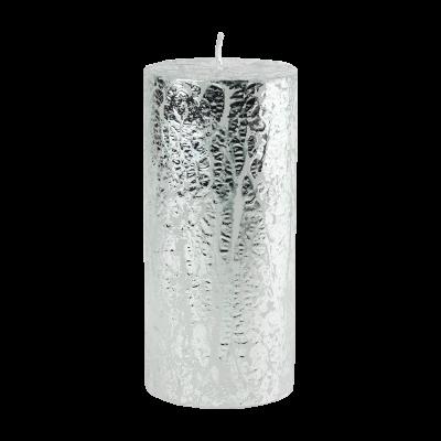 Świeca w kształcie walca Glamour 6,5x14 cm