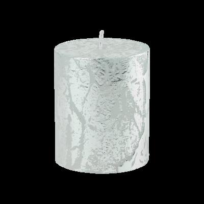 Świeca w kształcie walca Glamour 6,5x8 cm