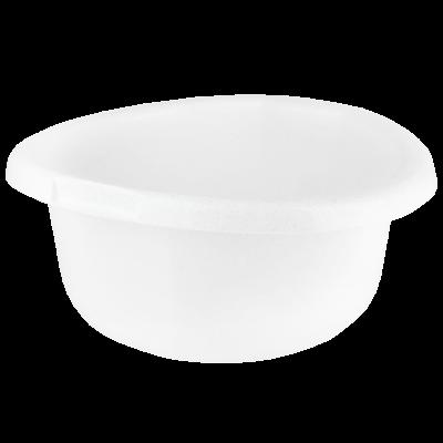 Miska plastikowa biały marmurek 15 l