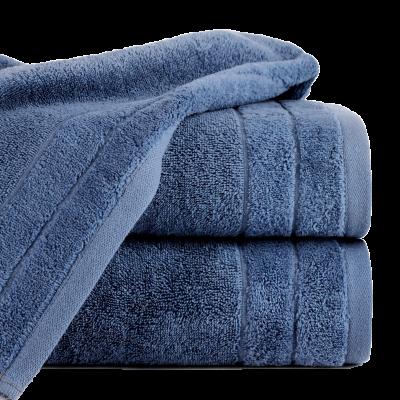Ręcznik Damla granatowy 70x140 cm