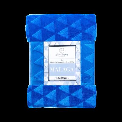 Koc Malaga 150x200 cm niebieski