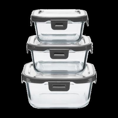 Zestaw pojemników GERLACH Smart 3-elementowy