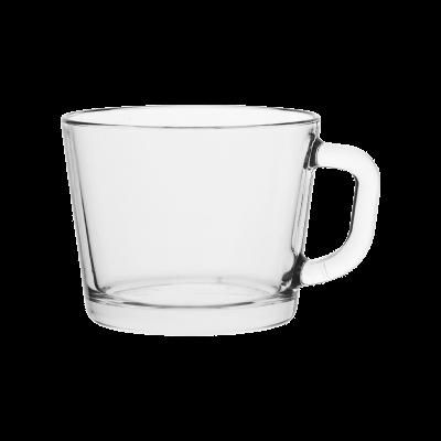 Komplet 4 kubków szklanych jumbo 450 ml