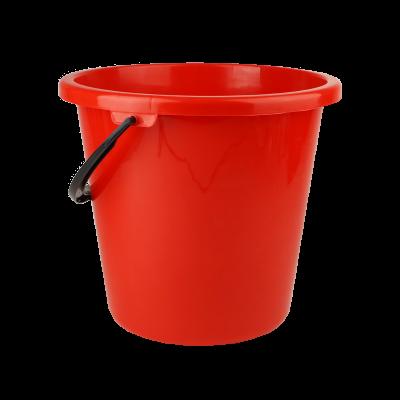 Wiadro plastikowe czerwone 16 l