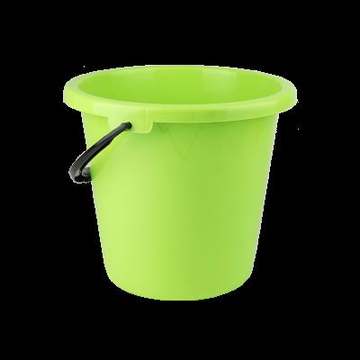 Wiadro plastikowe zielone 9 l