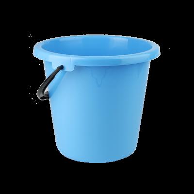 Wiadro plastikowe niebieskie 9 l