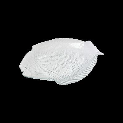 Półmisek szklany ryba PASABAHCE 26x21 cm
