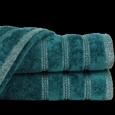 Ręcznik Glory ciemnozielony 70x140 cm
