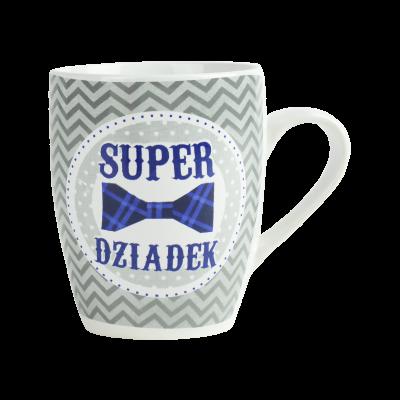 """Kubek z napisem """"Super Dziadek"""" 300 ml"""
