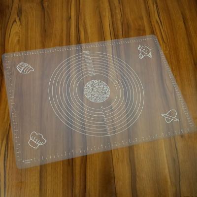 Stolnica silikonowa transparentna 45x65 cm