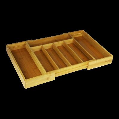Bambusowy wkład do szuflady TOPFANN 52x32x5 cm