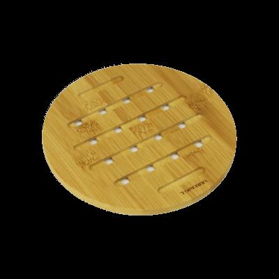 Bambusowa podkładka pod garnek okrągła TOPFANN 18 cm