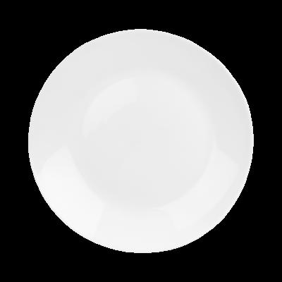 Talerz płaski Classic biały 25 cm