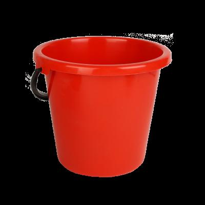 Wiadro plastikowe czerwone 9 l