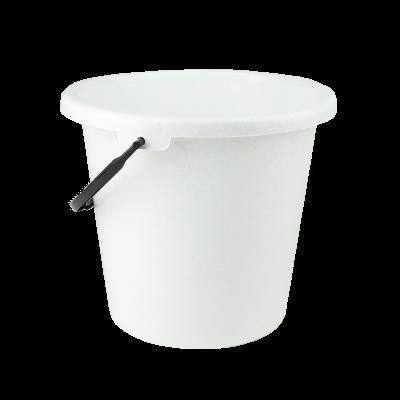 Wiadro plastikowe biały marmurek 16 l