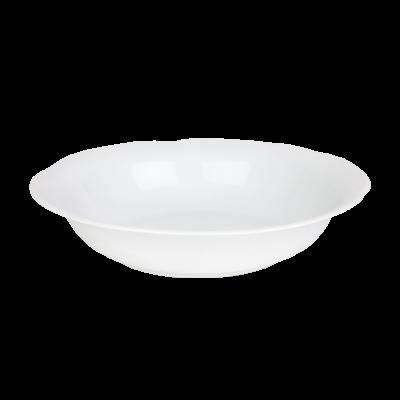 Salaterka porcelanowa okrągła CHODZIEŻ Kamelia 26 cm