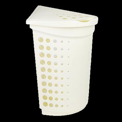 Kosz narożny na pranie/bieliznę KREM 40l