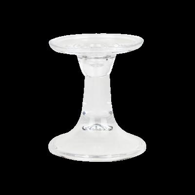 Świecznik szklany 9x11 cm