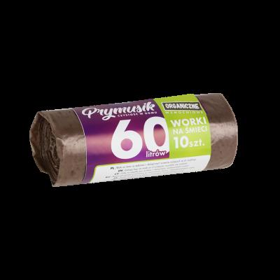 Worki na śmieci PRYMUSIK organiczne 60 l