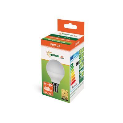 Żarówka LED kulista E14 6W