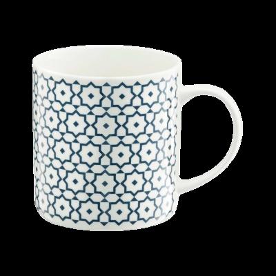 Kubek porcelanowy AMBITION niebieskie gwiazdki 350 ml