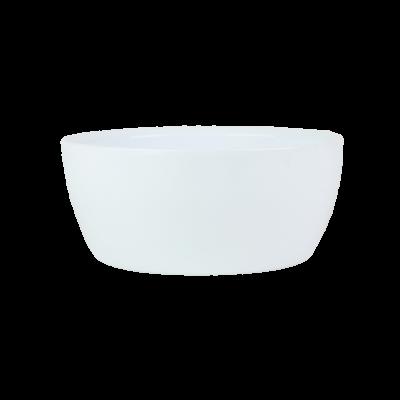 Osłonka ceramiczna misa biała 23 cm