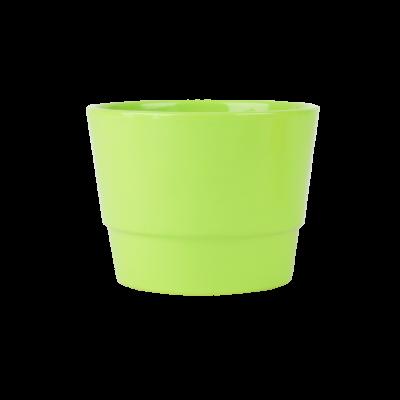 Osłonka ceramiczna prymulka zielona 12 cm