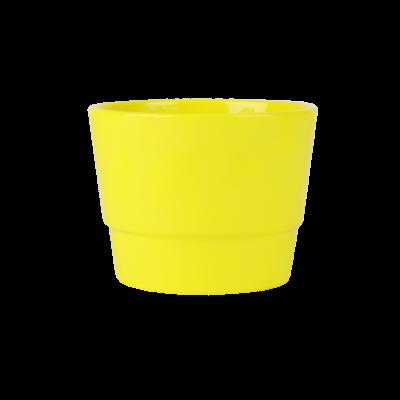 Osłonka ceramiczna prymulka żółta 12 cm